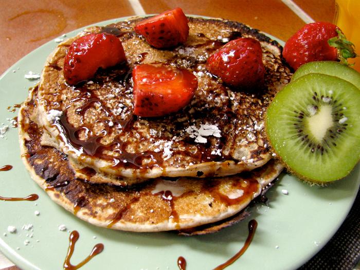 Vegan Pancakes : American Brunch - The Lotus and the Artichoke