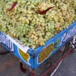 South India Street Food - Tiruvannaamalai - Grapes Fruit Cart