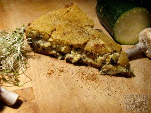 Vegan Quiche : French - The Lotus and the Artichoke - Vegan Recipes from World Adventures