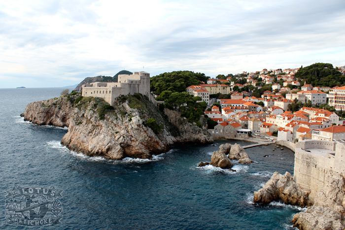 Dubrovnik: View from Stari Grad (Old Town) - The Lotus and the Artichoke