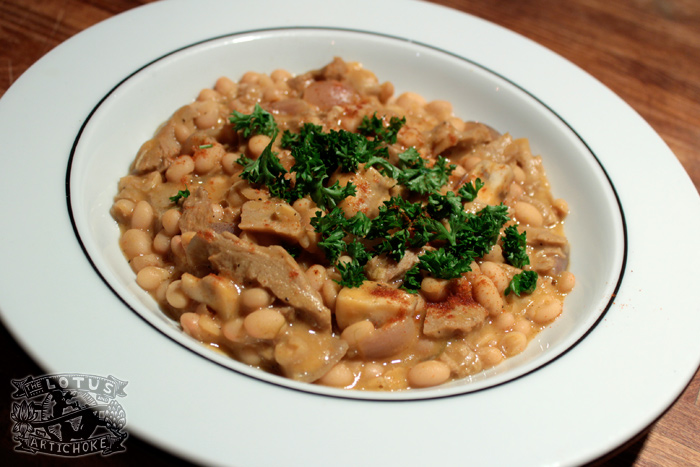 Grah - Balkan Bean Stew - Croatian, Serbian, Bosnian - The Lotus and the Artichoke