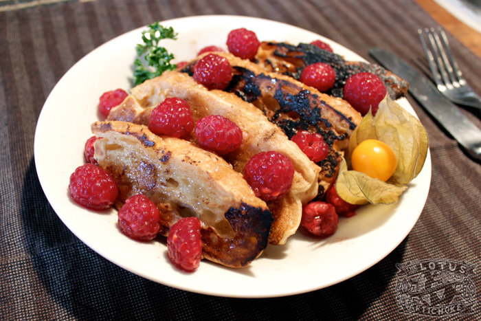 Vegan French Toast : American Classic - The Lotus and the Artichoke - Vegan Recipes from World Adventures