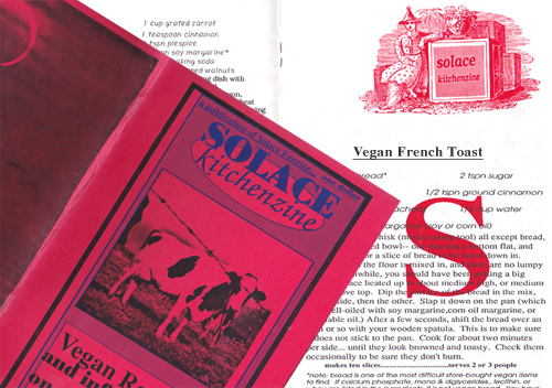Solace Kitchenzine - Vegan French Toast - 1992