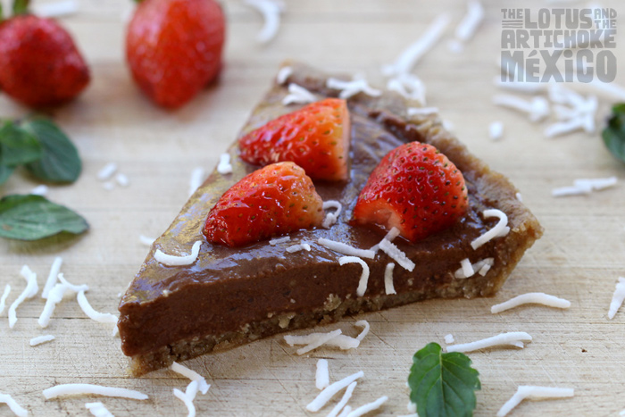 Chili Choco Berry Pie - The Lotus and the Artichoke MEXICO Vegan Cookbook