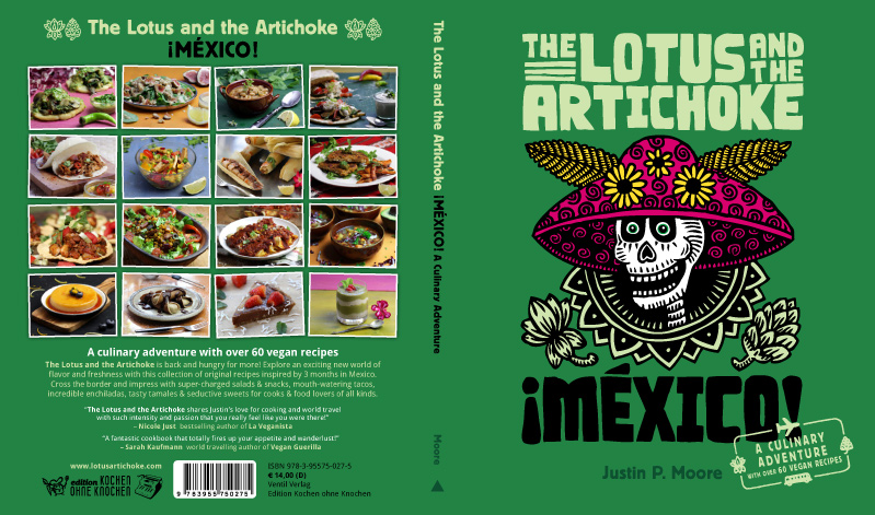 The Lotus and the Artichoke - MEXICO vegan cookbook cover