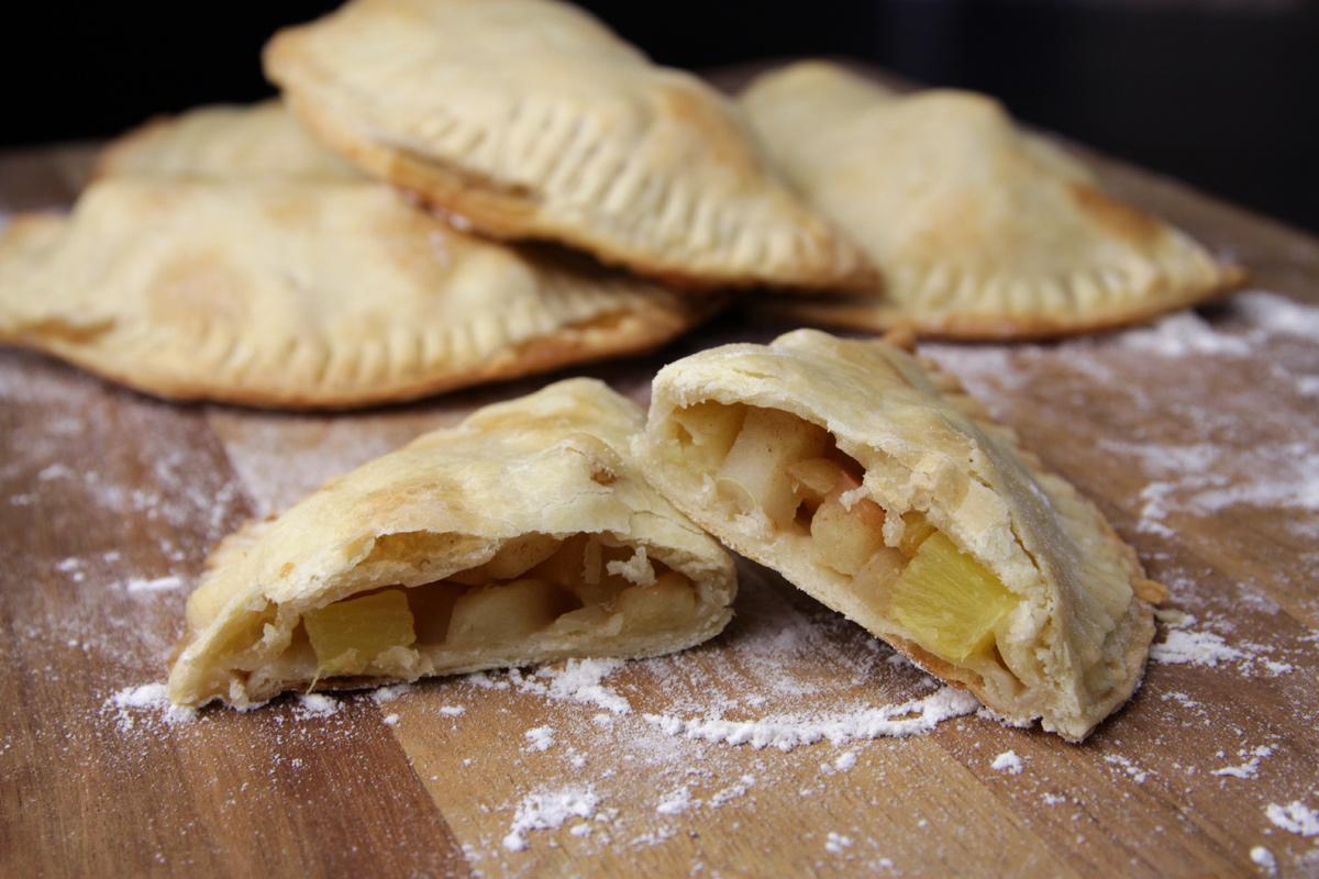 Empanadas de Manzana y Piña