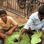 Puri - Paan Leaves - South India Street Food - The Lotus and the Artichoke Travels