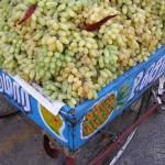 South India Street Food - Tiruvannaamalai - Grapes Fruit Cart