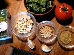 Thai : Eggplant Basil Coconut Tofu Curry process 3 - The Lotus and the Artichoke