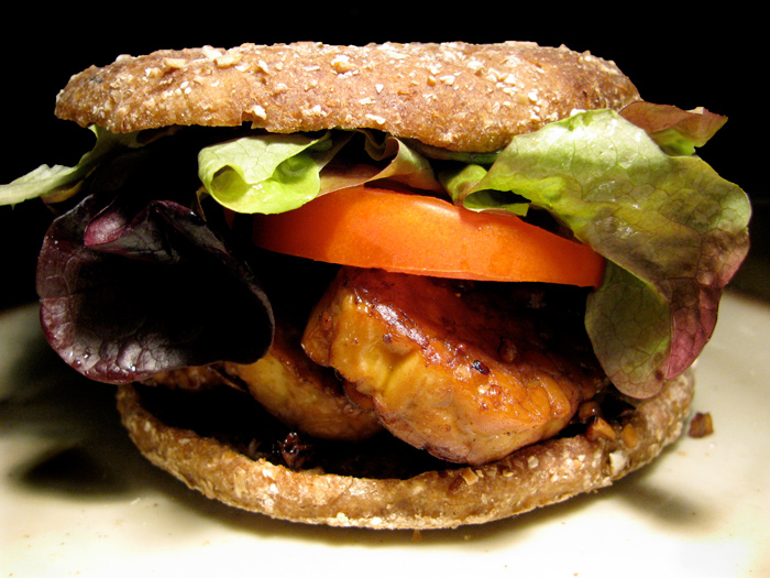 TLT - Tempeh Lettuce Tomato Sandwich - The Lotus and the Artichoke - Vegan Recipes from World Travel Adventures