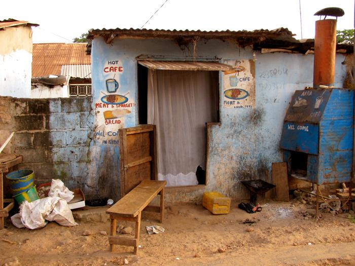 Serrekunda, The Gambia - The Lotus and the Artichoke