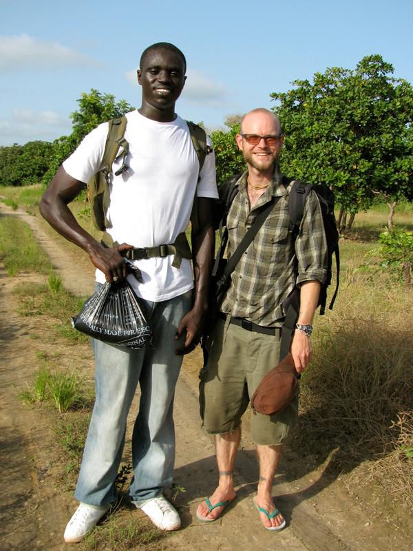 Jinack Island - The Gambia - The Lotus and the Artichoke
