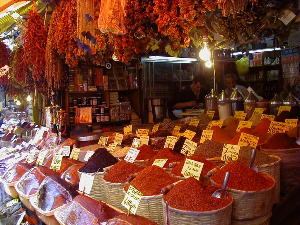Spice Markets - Istanbul, Turkey - The Lotus and the Artichoke