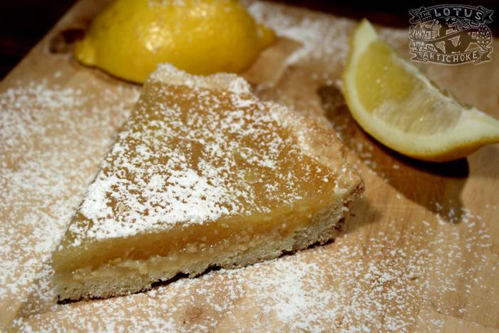Tarte au Citron - Vegan Lemon Pie - The Lotus and the Artichoke - World Travel Recipes