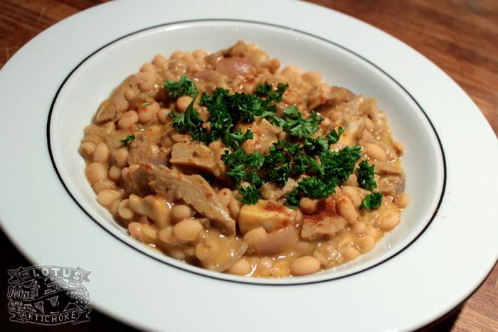 Grah - Balkan Bean Stew - Croatian, Serbian, Bosnian - The Lotus and the Artichoke