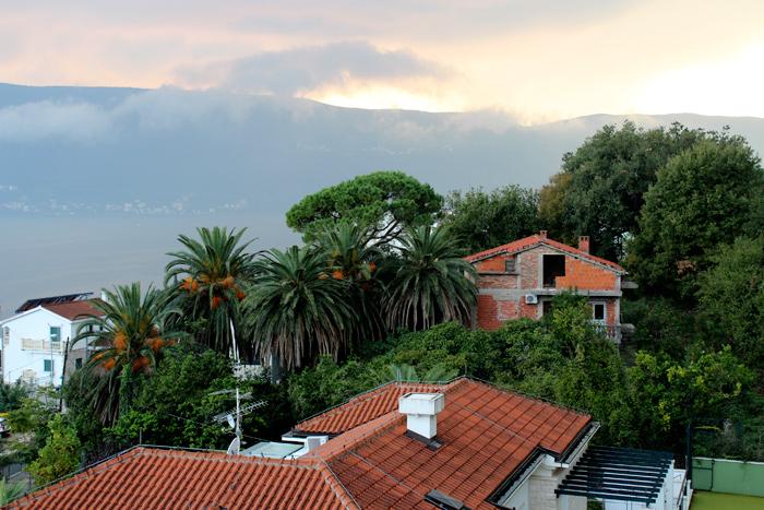 Roofs of Herceg Novi - Montenegro - The Lotus and the Artichoke