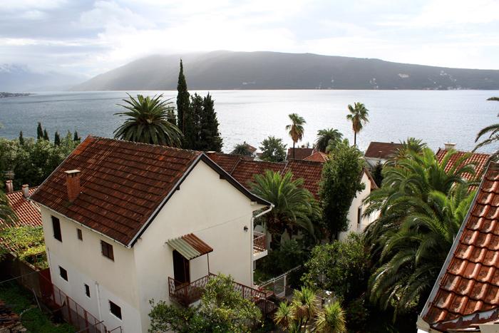 View from Balcony - Herceg Novi, Montenegro - The Lotus and the Artichoke