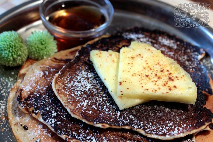 Paradise Pineapple Pancakes - Thailand - The Lotus and the Artichoke
