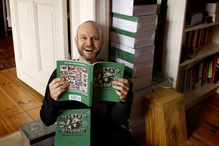 JPM and The Lotus and the Artichoke Vegan Cookbook December 2012