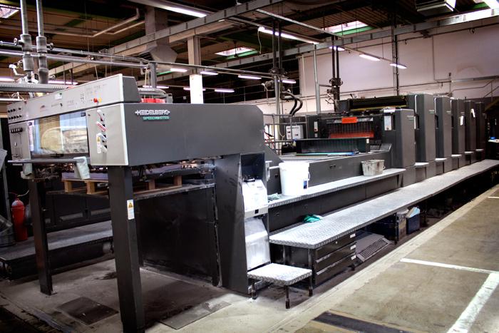 The Lotus and the Artichoke - Heidelberg print machine