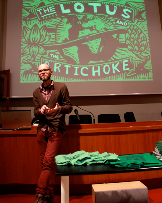 Creativity, Crowdfunding, Cookbooks - The Lotus and the Artichoke at The American University in Rome