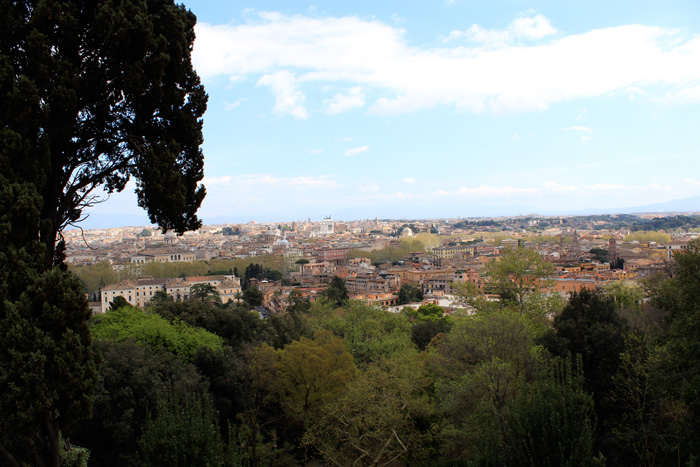 Scenic View of Rome - The Lotus and the Artichoke - Vegan Recipes from World Adventures