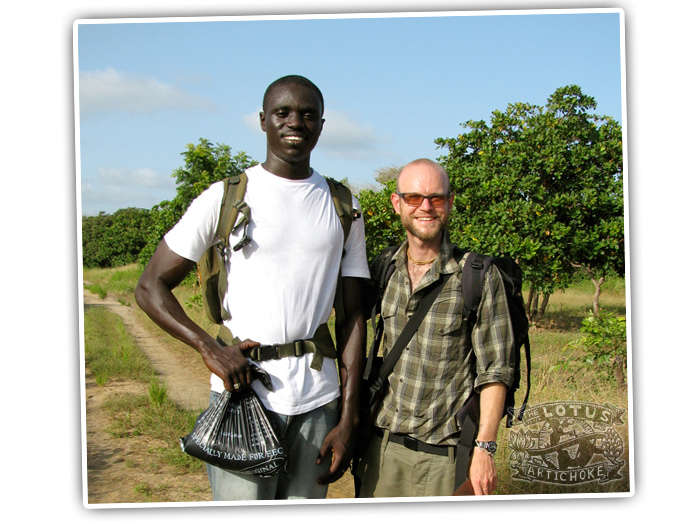 Kochen ohne Knochen Das Vegane Magazine Interview Justin P. Moore Gambia