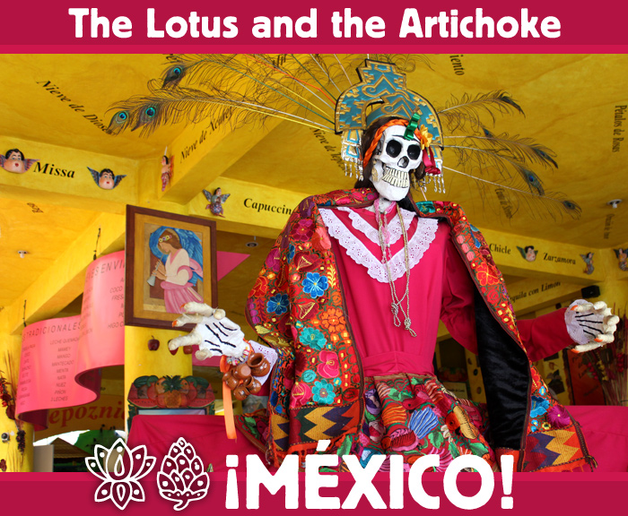 Mexico - Lady Death - Dia de los Muertos - Tepoztlán