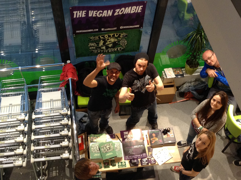 Essen Veganz The Vegan Zombie Germany Tour 2014