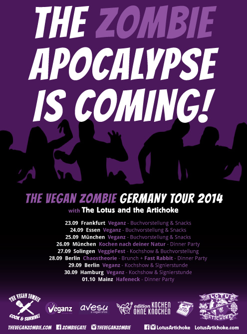 The Vegan Zombie - The Lotus and the Artichoke Germany Tour 2014