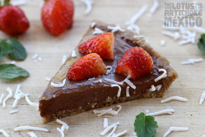 Chili Choco Berry Pie - The Lotus and the Artichoke MEXICO Vegan Cookbook