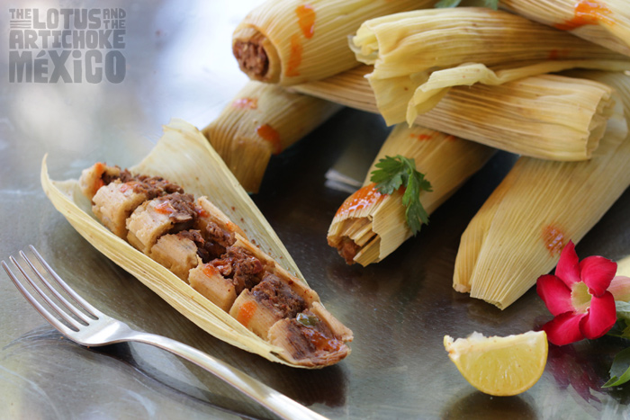 Tamales with Smoked Tofu & Black Beans - The Lotus and the Artichoke MEXICO Vegan Cookbook