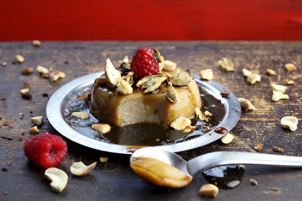 Wattalapam - Sri Lankan Spiced Coconut Custard Pudding