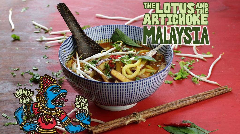 The Lotus and the Artichoke MALAYSIA vegan cookbook on Kickstarter