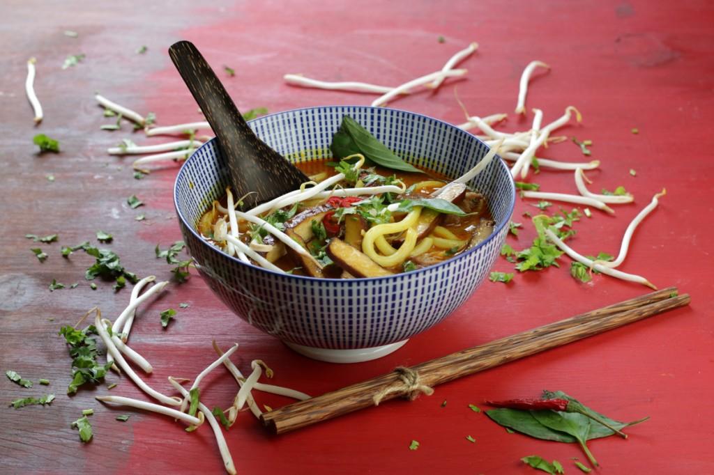 Penang Laksa Noodle Soup